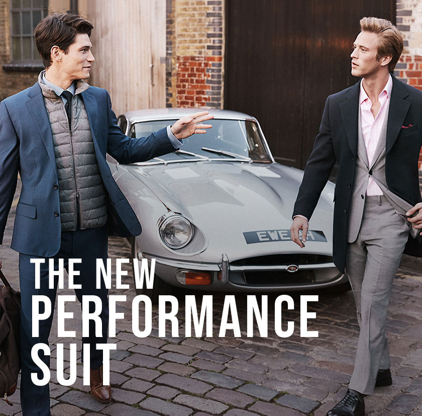 Performance Wool Suits