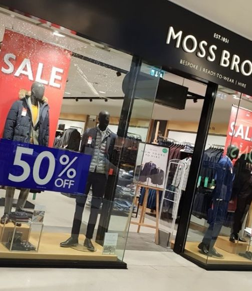 Moss Bros Crawley