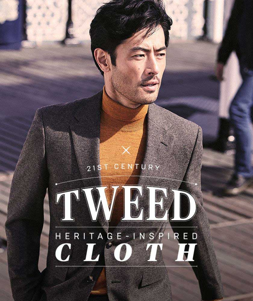 MEN'S TWEED INSPIRED SUITS